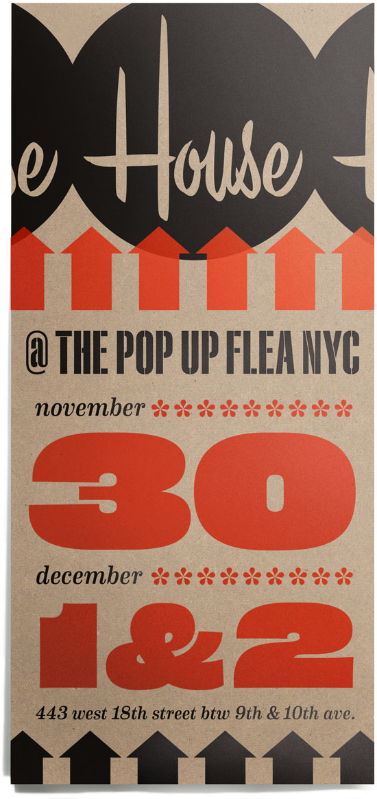 The Pop Up Flea, Nov. 30, Dec. 1,2, 443 West 18th St., New York, NY 10011