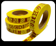 PLINC Alphabet Tape